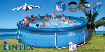 Intex pool christian b siger for Selbstaufstellender pool