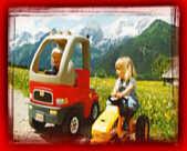 Kindertraktorrennen