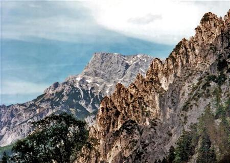 Klettersteig Buchstein : Buchstein klettersteig