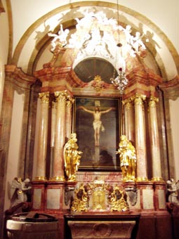renovierung 2005 immakulata altar und kreuzaltar. Black Bedroom Furniture Sets. Home Design Ideas