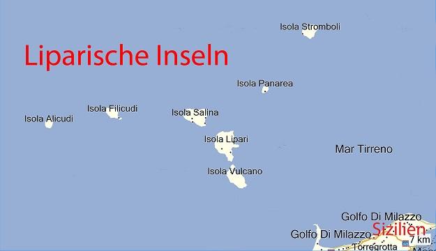 liparische inseln karte Klaus PLASSER   Homepage / Berichte / 2013 / 2013 09 Liparische Inseln
