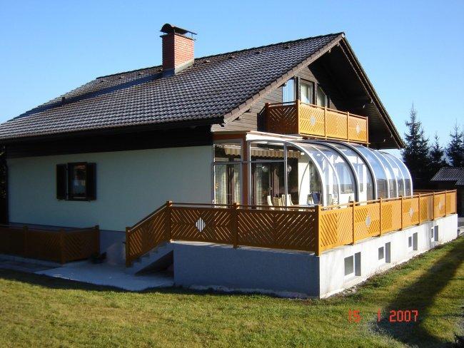 terrassen berdachungen balkon. Black Bedroom Furniture Sets. Home Design Ideas