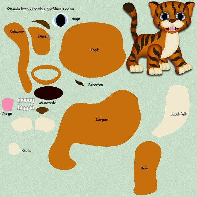 Radschan das Tigerbaby